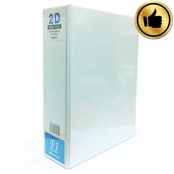 East-File 2D Ring File - 65mm Capacity for A4 Paper (Item No: B11-90) BEST