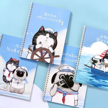 My Emperor Comix Series of Nautical Edition Double Spiral Notebook - B5 size