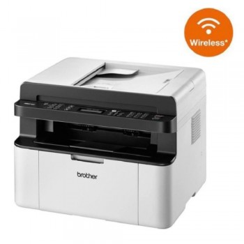 Brother MFC-1910W (Print, Scan, Copy, Fax) All-in-1 Monochorme Wireless Brother iPrint Compact Laser Printer